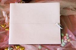 Outback White Leather Album - large