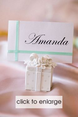 Gift box Place card Holder