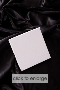 CD Rigid Box - glossy white