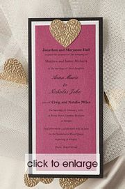 Heavenly Hearts Invitation