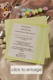 Wasabi Invitation