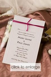 Snow Drop Invitation