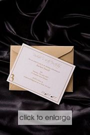 Carys Wedding Invitation