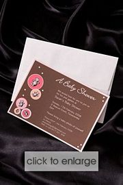 Bear Bubble Wedding Invitation