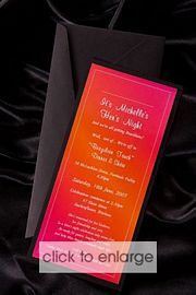 Azalea Wedding Invitation