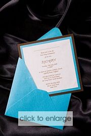 Zachary Wedding Invitation