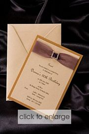 Diella Wedding Invitation