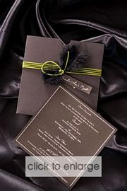 Acacia Wedding Invitation