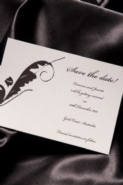 Marilyn - Save the Date Wedding Invitation