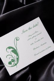 Ivy - Save the Date Wedding Invitation