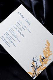 Sahara Wedding Invitation